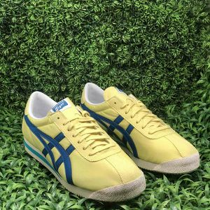 Asics Onitsuka Tiger Corsair Yellow/Blue Men Size 11.5 & 12 for Sale in Rolling Hills Estates, CA