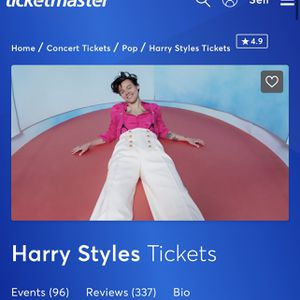 Harry Styles Concert Tickets for Sale in Fort Lauderdale, FL