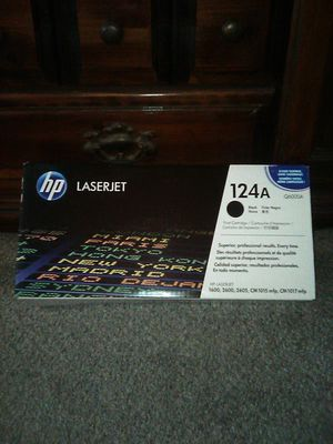 HP LaserJet 124A toner for Sale in Rancho Cucamonga, CA