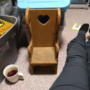 Doll Chair Wooden for Sale in Vancouver, WA