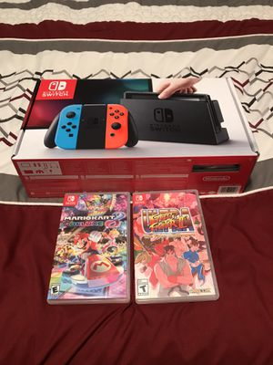 Nintendo Switch w/ 2 Games like new for Sale in Brook Park, OH