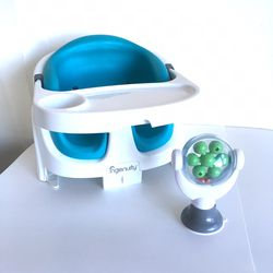 Ingenuity 2-in-1 Booster Feeding And Floor Seat With Self-Storing Tray + Spin To Engage Toy for Sale in Santa Cruz,  CA