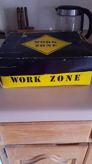 Work zone steel toe boots for Sale in El Paso, TX