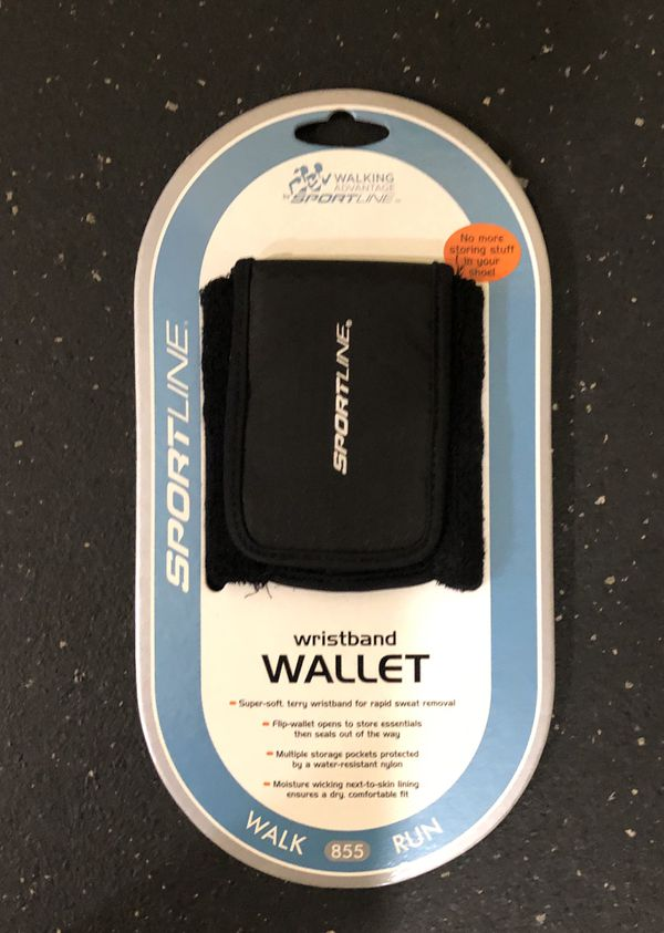 Wristband Wallet for Runners or Walkers - Exercise Equipment