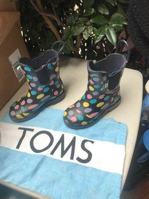 Rain boots sz T 9 $15.00 obo for Sale in Modesto, CA