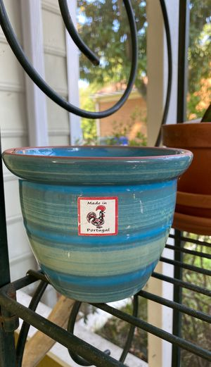 Portugal flower pot for Sale in Newport News, VA