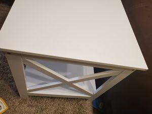 End Table X-Design Display Shelves Accent Sofa Side Table Nightstand for Sale in El Cajon, CA
