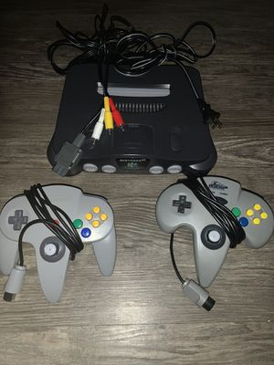 Nintendo 64 !! Comes with everything! DONT BE AFRAID TO OFFER WHAT YOU CAN !! for Sale in East Point, GA