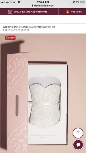 New/Unused Preservation box for a wedding dress or any dress (NEW) 50% off for Sale in Fort Lauderdale, FL