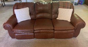 Leather Recliner Couch for Sale in Newark, OH
