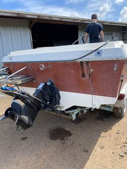 1987 bell boy boat and trailer for sale for Sale in Molalla,  OR