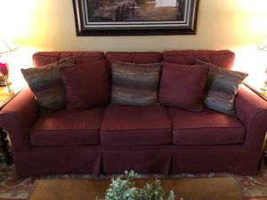 Couch, (2) Recliners, (2) Footstools, 9x12 Area Rug for Sale in Brentwood, PA
