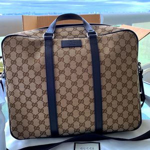 Ebony Cg Coated Canvas Weekend/ Travel Bag for Sale in Miami, FL