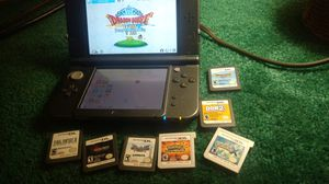 NEW Nintendo 3DS XL with games and grip case. Or best offer for Sale in Baltimore, MD