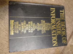 Book Of Inside Information 1989 Print Bottom Line for Sale in San Antonio, TX