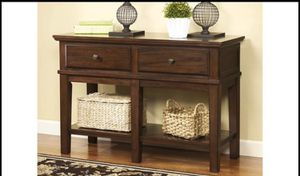 ASHLEY DESIGN Gately Sofa/Console Table, BRAND NEW IN BOX !!! for Sale in Mount Laurel Township, NJ