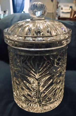 Fifth Avenue Crystal Apothecary Jar for Sale in Westminster, CA