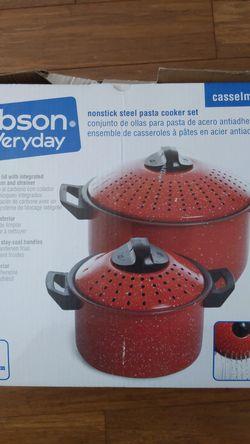 Non-stick Steel Pasta Cooker set for Sale in Ashburn,  VA