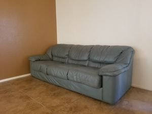 Green Couch NEED GONE for Sale in Scottsdale, AZ