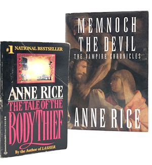 ANNE RICE MEMNOCH & BODY THEIF for Sale in Torrance, CA