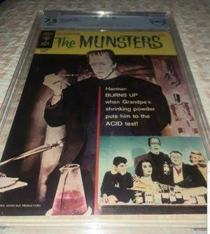 1966 THE MUNSTERS COMIC BOOK GRADED 7.5 for Sale in Miami, FL