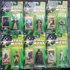 6 - Star Wars - Power of The Jedi - 3 3/4 Action Figure Collection for Sale in Oakdale, CA