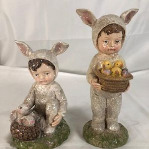 Set of 2 Children in Bunny Outfits for Sale in Fort Lauderdale, FL