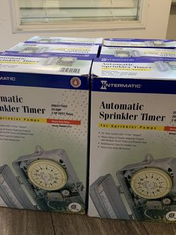 Automatic Sprinkler Timer for Sale in Clackamas,  OR