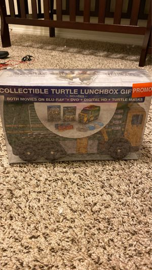 TMNT lunchbox collectible DVD set for Sale in Las Vegas, NV