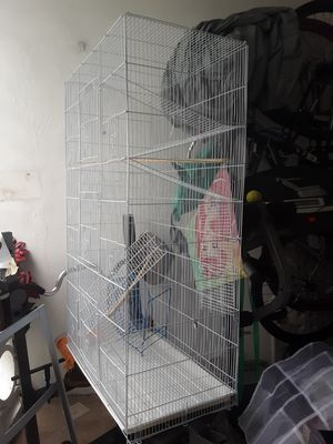 Bird cage or small animal cage 30by51 inches for Sale in Pompano Beach, FL