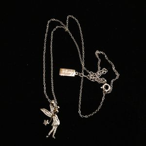 Disney Tinkerbell Chain & Charm Silver & Diamonds for Sale in Ontario, CA