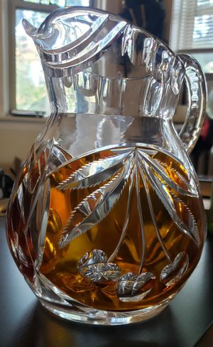 Vintage Crystal 64oz Pitcher Pick Up Northside for Sale in Chicago, IL
