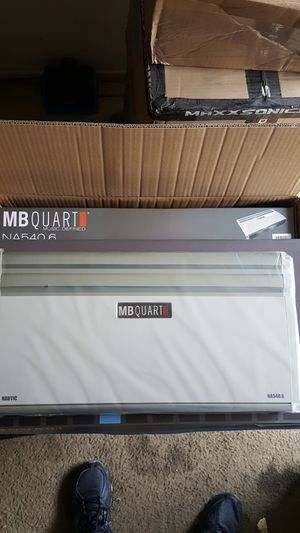 MB Quart Nautic NA540.6 Marine 6 x 60w RMS at 4 Ohms 6 Channel Amplifier for Sale in Santa Ana, CA