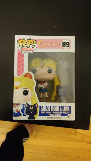 Funko Pop! Animation Sailor Moon & Luna for Sale in Chicago, IL