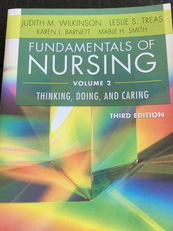 Fundamentals Of Nursing Vol. 2 for Sale in Portland,  OR