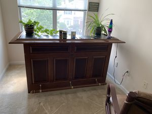 Brunswick solid wood bar for Sale in West Greenwich, RI