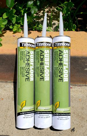 SUBFLOOR ADHESIVE for Sale in Santa Ana, CA