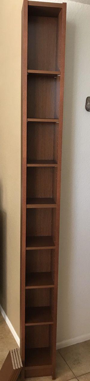 Media Storage Unit * DVD, Blu Ray, CD * Tall Narrow Shelves, Bookcase for Sale in Phoenix, AZ