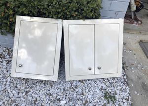 2 medicine cabinets 16x21. and 21x21 inside dimensions. for Sale in Palm Harbor, FL