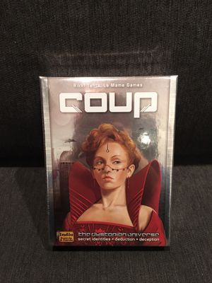 Coup (The Dystopian Universe) Indie Board and Card games for Sale in Westminster, CA