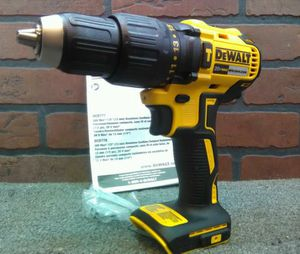 DeWalt DCD778b 20V. BRUSHLESS two speeds hammer drill brand new, firm price, bare tool!!! for Sale in Lake Worth, FL