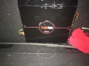 Amplifier and speaker for Sale in West Covina, CA