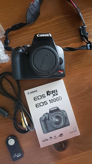 EOS Canon Rebel XS Digital Camera for Sale in Gilbert, AZ