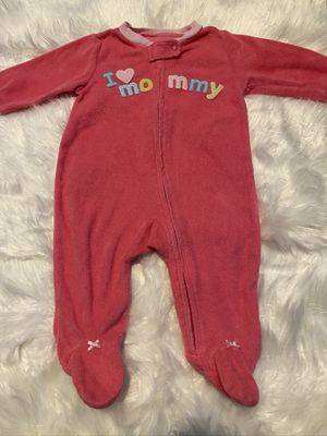 Carters I Love Mommy Pajamas Size 6 Months for Sale in Portland, OR