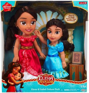 New in box- Elena of Avalor & Isabel Toddler Doll Deluxe Pack for Sale in Phoenix, AZ