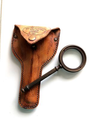 Antique Rustic magnifying glass showpiece for Sale in Dallas, TX