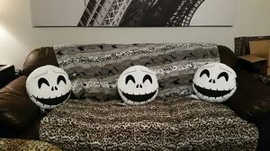 2 X The Nightmare Before Christmas Collectable Plush Pillow. for Sale in Austin, TX