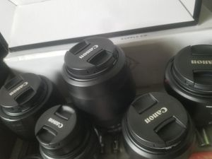 Canon Ef & Ef-s lenses and accessories for Sale in La Mesa, CA