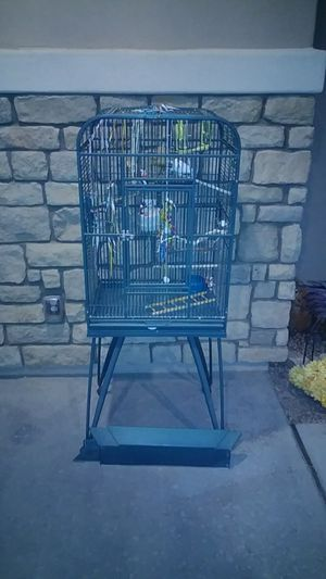 Bird cage and bird toys for Sale in Chandler, AZ