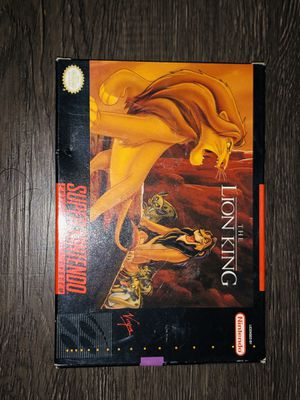Super Nintendo Lion King CIB for Sale in Columbus, OH
